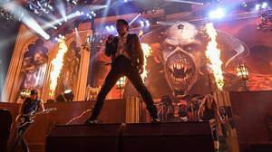 アイアン・メイデン、新ツアー<Legacy Of The Beast>開幕