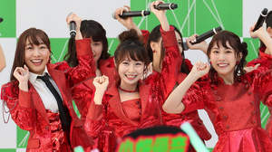 SKE48、リリイベで最新シングル披露。夏全開をアピール