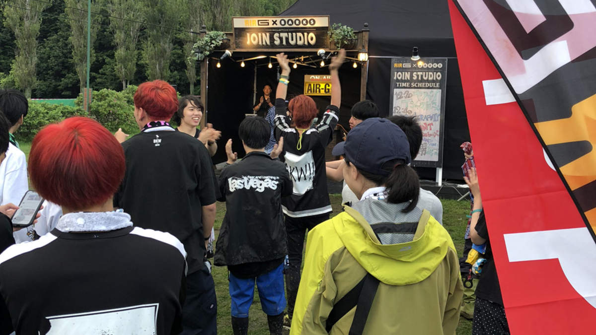 <JOIN ALIVE 2018>、カラオケ大会もいきなり勃発