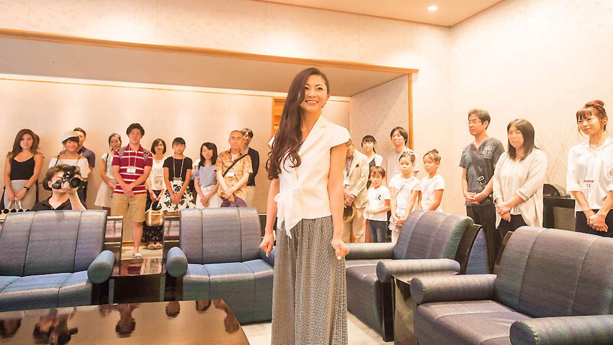 倉木麻衣、『京都市政PR動画』エキストラオーディションに出席「全員合格じゃダメですか?」