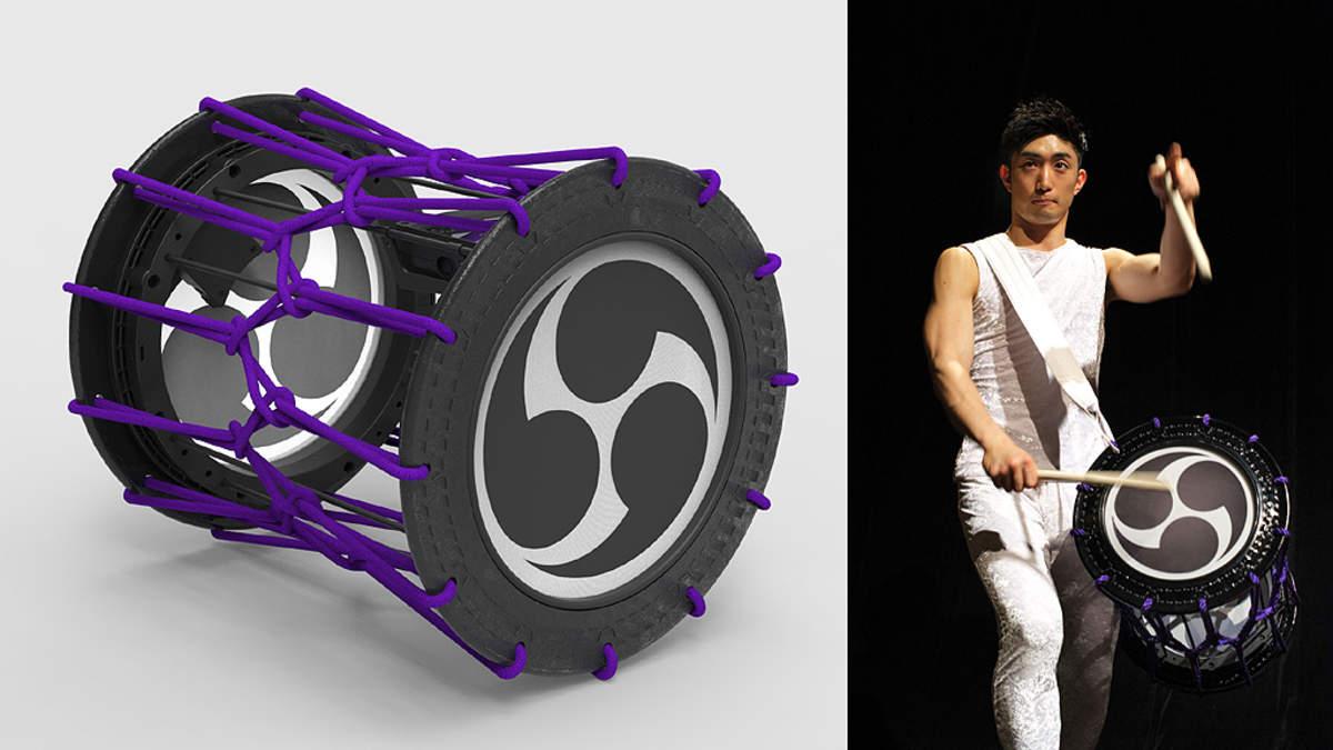 ローランドと鼓童が共同開発した「電子和太鼓」がさらに進化、ワイヤスレス化した最新版を「アース・セレブレーション 2018」で披露
