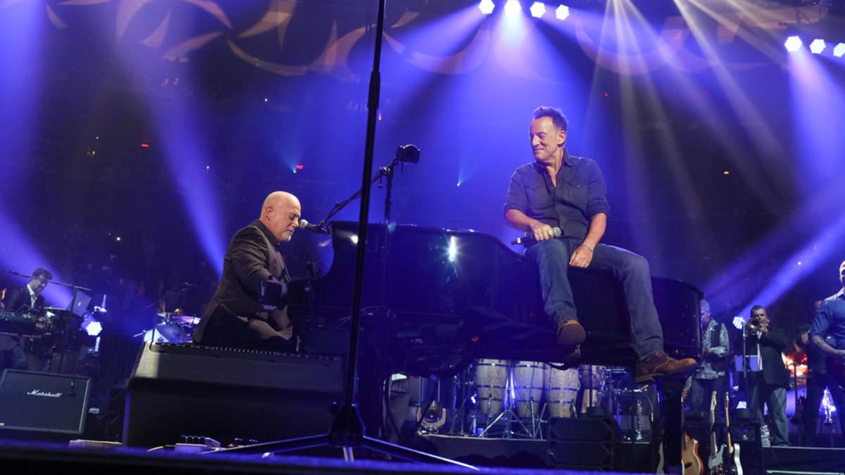 ビリー・ジョエルのマディソン・スクエア・ガーデン100回目公演にボスがゲスト出演