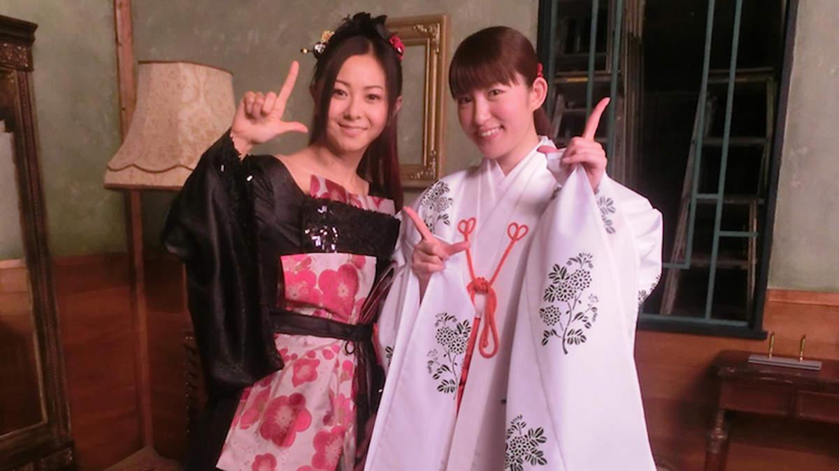 倉木麻衣、雅で幻想的な「今宵は夢を見させて」MVで小松未可子と共演