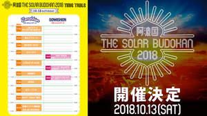 <阿波国ソーラー>全13組のタイムテーブル発表、トリは佐藤タイジ&華純連