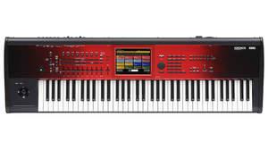 イタリア製グランド・ピアノを追加搭載した赤いグラデーション塗装の特別な「KRONOS」登場