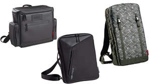 SEQUENZからマルチに使えるバッグ3種が登場、DJバッグや小型シンセ、ノートPCを持ち運べるバッグも