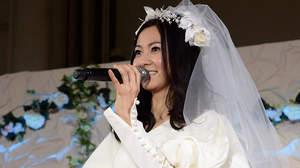 倉木麻衣、20周年イベントでウェディングドレス+20ヵ所ライブ開催発表も