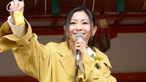 【レポート】倉木麻衣、国宝・石清水八幡宮で歌の奉納「とっても神聖な気持ち」