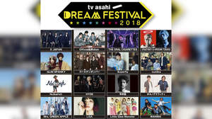 X JAPAN、HYDE、平井堅ら出演<ドリフェス2018>、9時間の拡大版放送