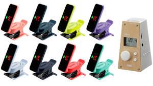 コルグ、人気のクリップ・チューナーにファッショナブルな8色が登場