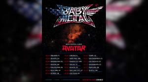 BABYMETAL、USツアーを発表