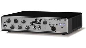 人気のTone Hammerに700Wのベースアンプが登場、aguilar「Tone Hammer 700」