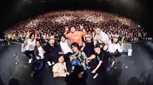 【ライブレポート】ACIDMAN×ストレイテナー×THE BACK HORN、東名阪ツアー開幕