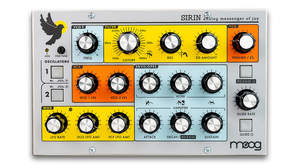 Moogのコンパクトなアナログ・シンセサイザー・モジュール「Sirin」限定生産で登場