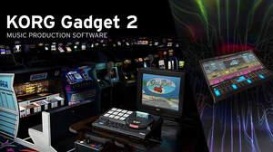 「KORG Gadget 2」が大型アップデート、待望のセガ/タイトーとのコラボ音源&強力なウェーブテーブル・ガジェットを追加