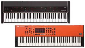 コルグGrandstageとVOX Continentalがアップデート、音色や演奏に便利な機能を追加したV2.0リリース