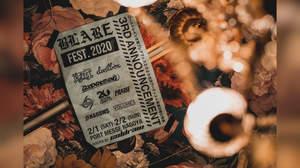 coldrain主催<BLARE FEST.>に10-FEET、ロットン、NAMBA69、Volumesら8組