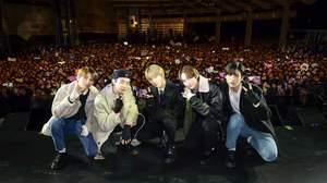 TOMORROW X TOGETHER、日本デビューを2,000人とお祝い