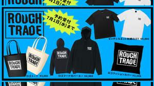 "UK名門レーベル""Rough Trade""、日本限定デザインの公式オリジナルロゴグッズ発売決定"