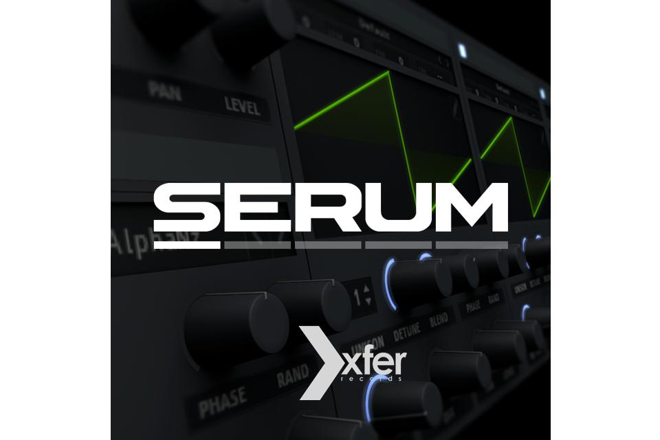 XFER RECORDS『SERUM』