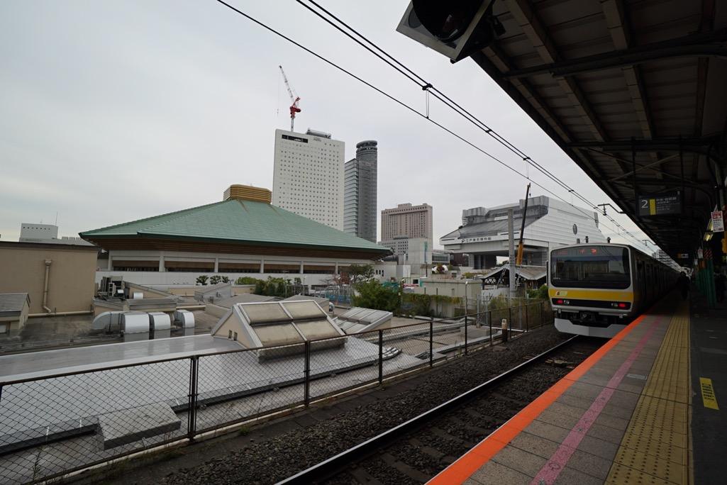 両国国技館/江戸東京博物館